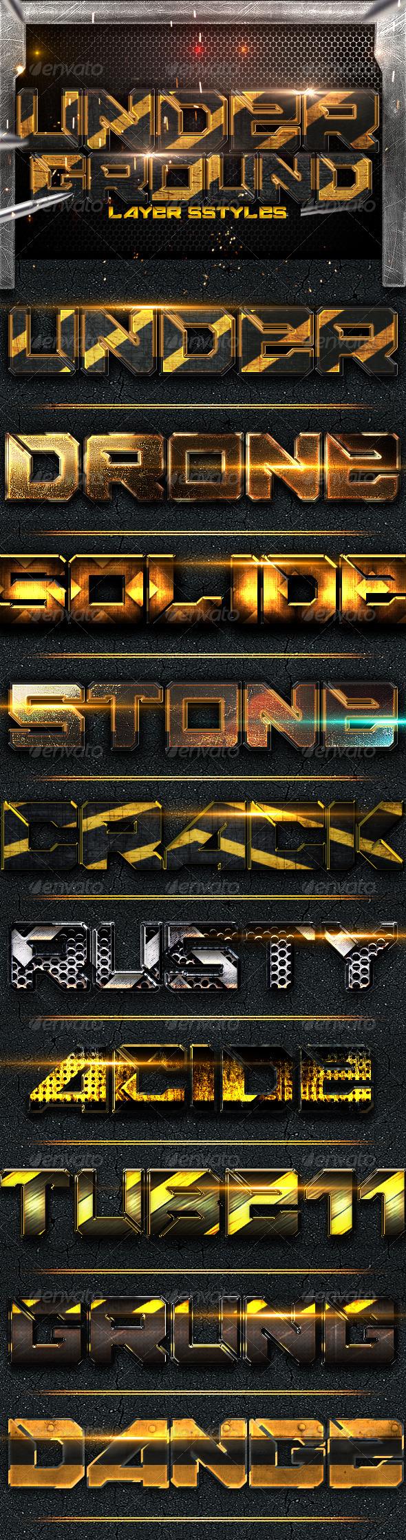 GraphicRiver Underground Styles 3937801