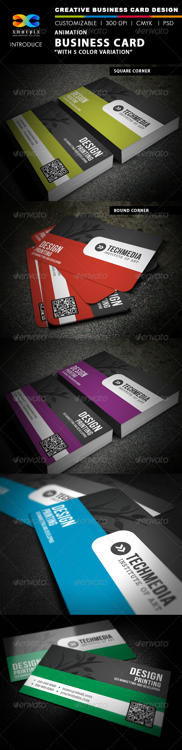 Animation Business Card - Creative Business Cards