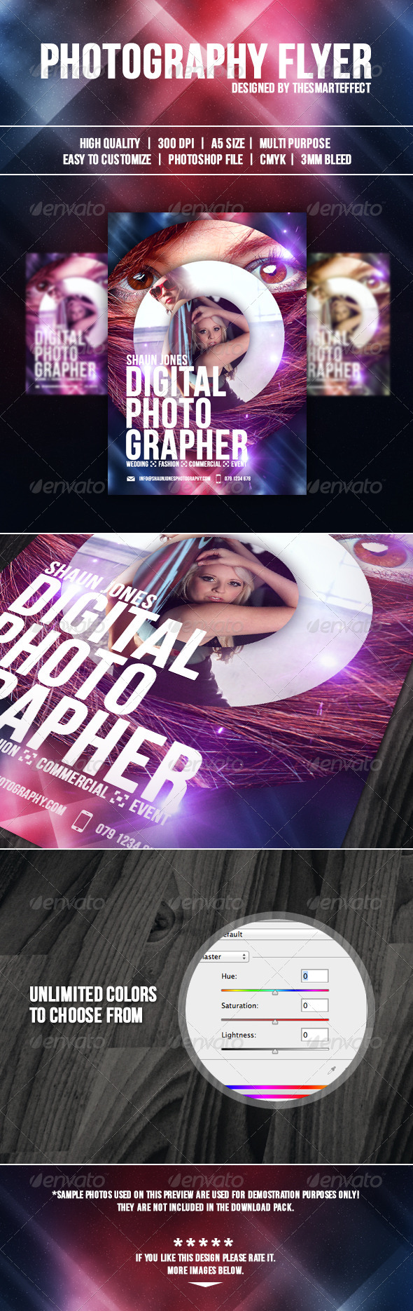 GraphicRiver Photography Flyer 3854762