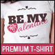 Valentine's Day T-shirt Template  - GraphicRiver Item for Sale