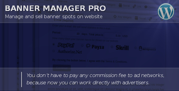 Banner Manager Pro - CodeCanyon Item for Sale