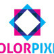 Color Pixel Logo - GraphicRiver Item for Sale