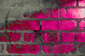 Pink Brick Wall - PhotoDune Item for Sale