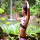 Sexy Dancer On Waterfall In Borneo Rainforest 2 - VideoHive Item for Sale