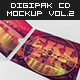 Digipak CD Mockup Vol. 2 - Kit - GraphicRiver Item for Sale