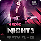 The Rocking Nights Party Flyer - GraphicRiver Item for Sale