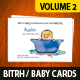 Birth/Baby Announcement Cards - Volume 2 - GraphicRiver Item for Sale