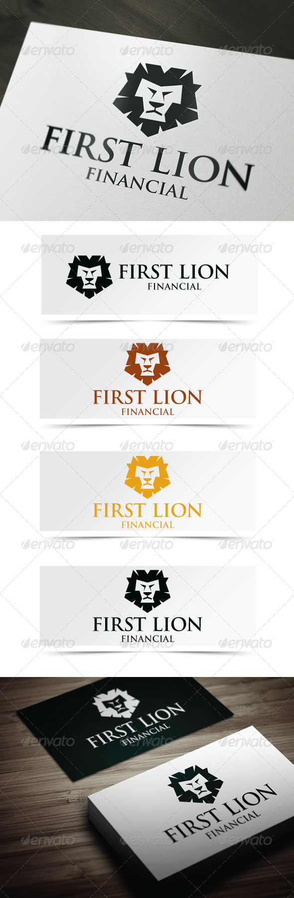 GraphicRiver First Lion 3946832