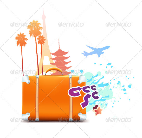 GraphicRiver abstract summer background 3948281
