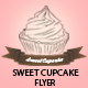 Sweet and Modern Cupcake Flyer - GraphicRiver Item for Sale