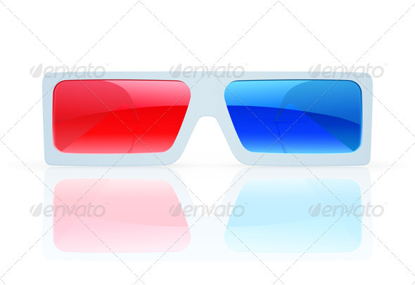 GraphicRiver 3D anaglyph glasses 3948286