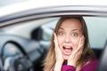 Female driver shocked - PhotoDune Item for Sale