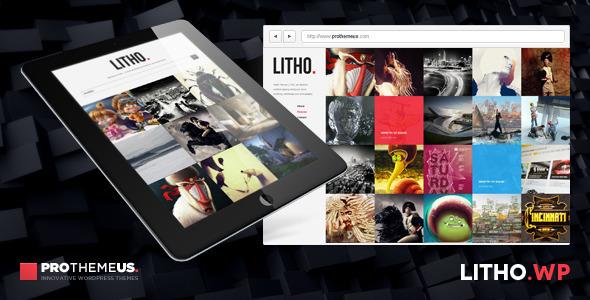 Litho | WordPress Theme for Visual Enthusiasts - Portfolio Creative