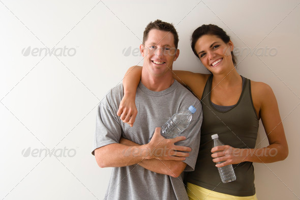 PhotoDune Fitness couple 426383