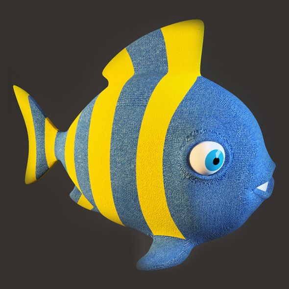 3DOcean Fish Toy 3951748