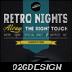 Retro Nights Flyer / Poster - GraphicRiver Item for Sale