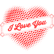 I Love You Design for Greeting Card or Poster - GraphicRiver Item for Sale