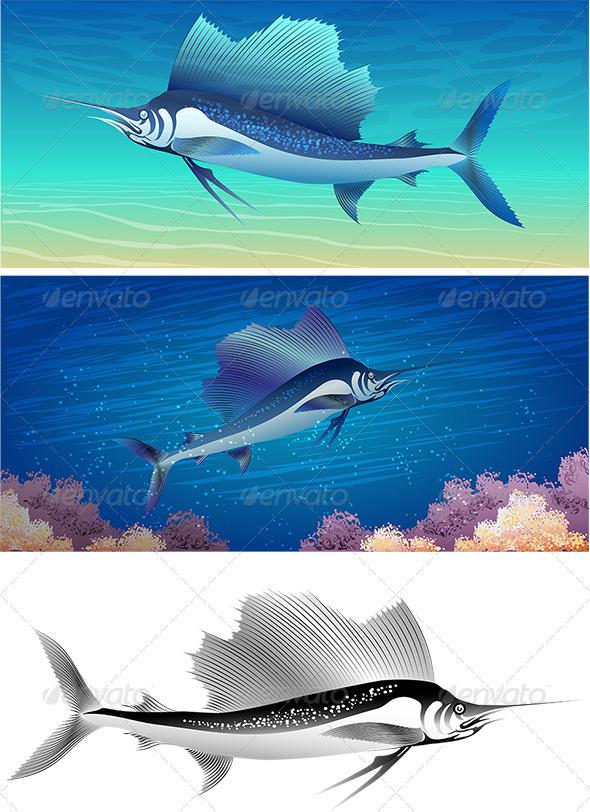 GraphicRiver Sailfish Set 3952490