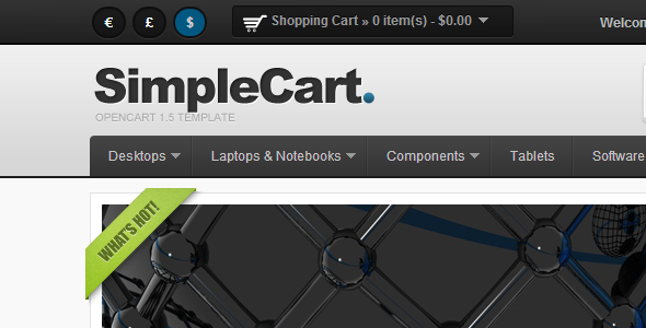 SimpleCart for OpenCart 1.5
