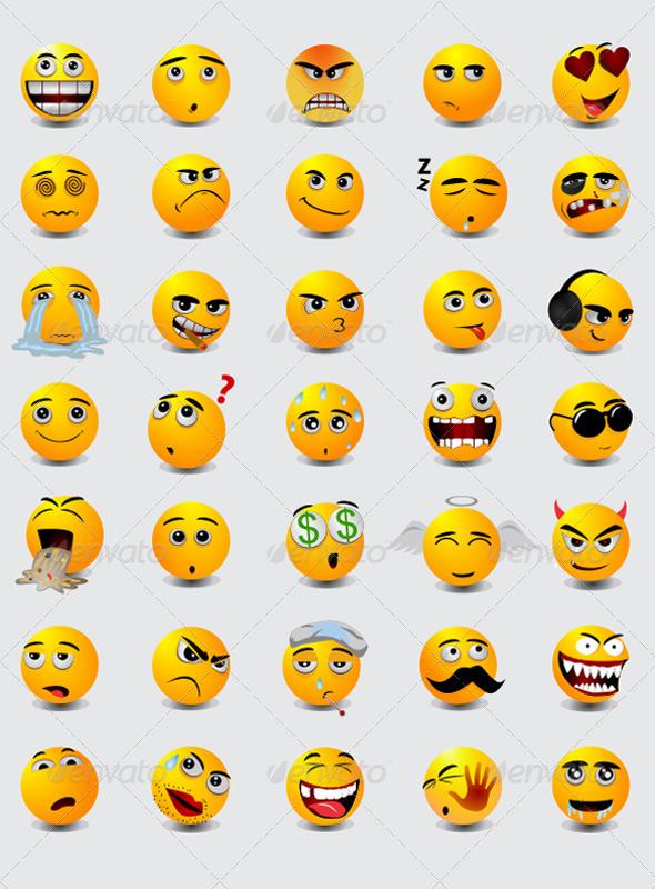 GraphicRiver Emoticon 3953106