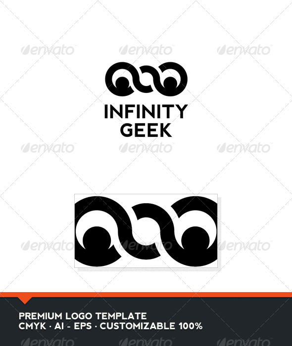 GraphicRiver Infinity Geek Logo Template 3953336