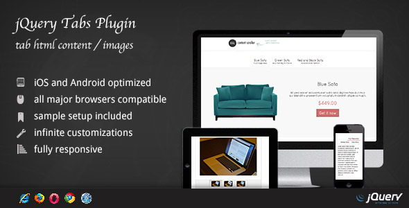CodeCanyon jQuery Tabs Plugin DZS 3953566