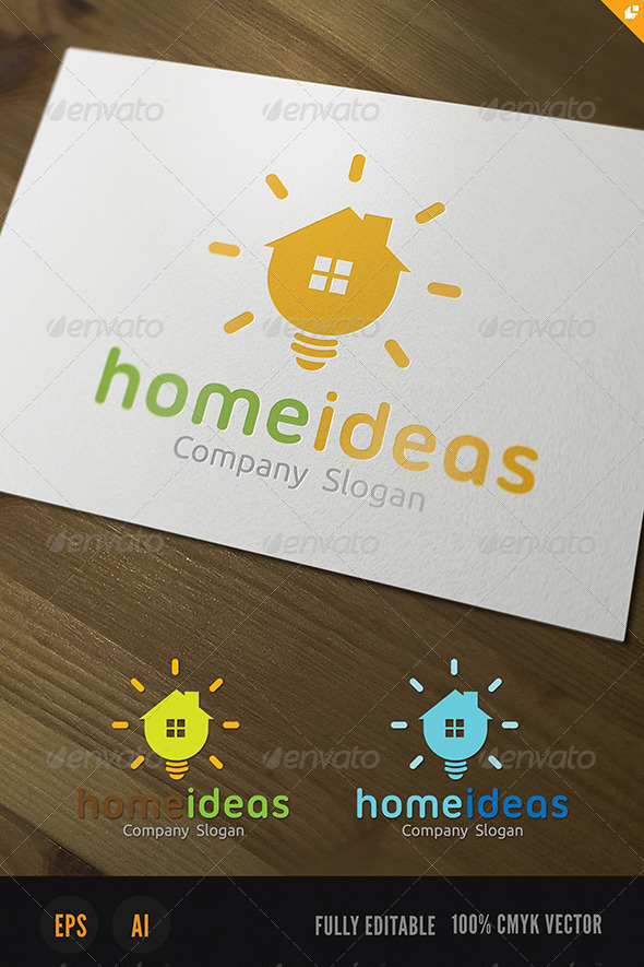 GraphicRiver Home Ideas Logo 3954032
