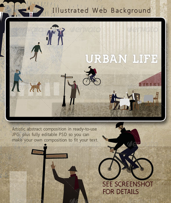 Urban Life: People in the City - Business Backgrounds
