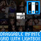 Draggable Infinite Grid with Lightbox - CodeCanyon Item for Sale