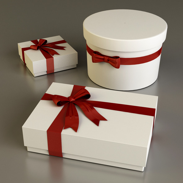 3DOcean Gift Boxes 3958350