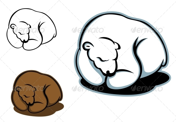 GraphicRiver Sleeping Bear 3958841