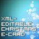 Christmas XML-Editable E-Card - ActiveDen Item for Sale