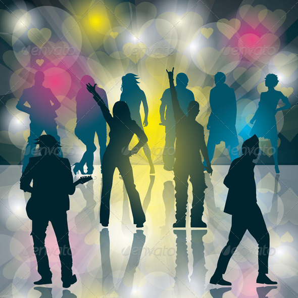 GraphicRiver Dance Party 3961217