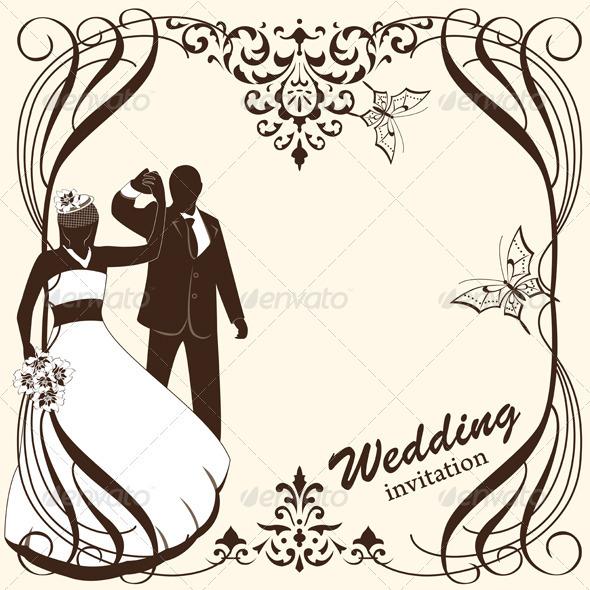 GraphicRiver Wedding Card Invitation 3964901