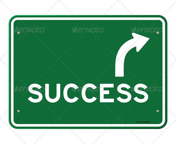 GraphicRiver Success Sign 3965840