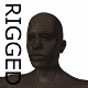 RIGGED Young Black Man Base Mesh - 3DOcean Item for Sale