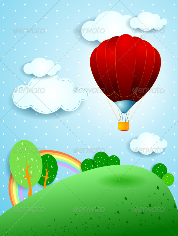 GraphicRiver Hot Air Balloon 3966281