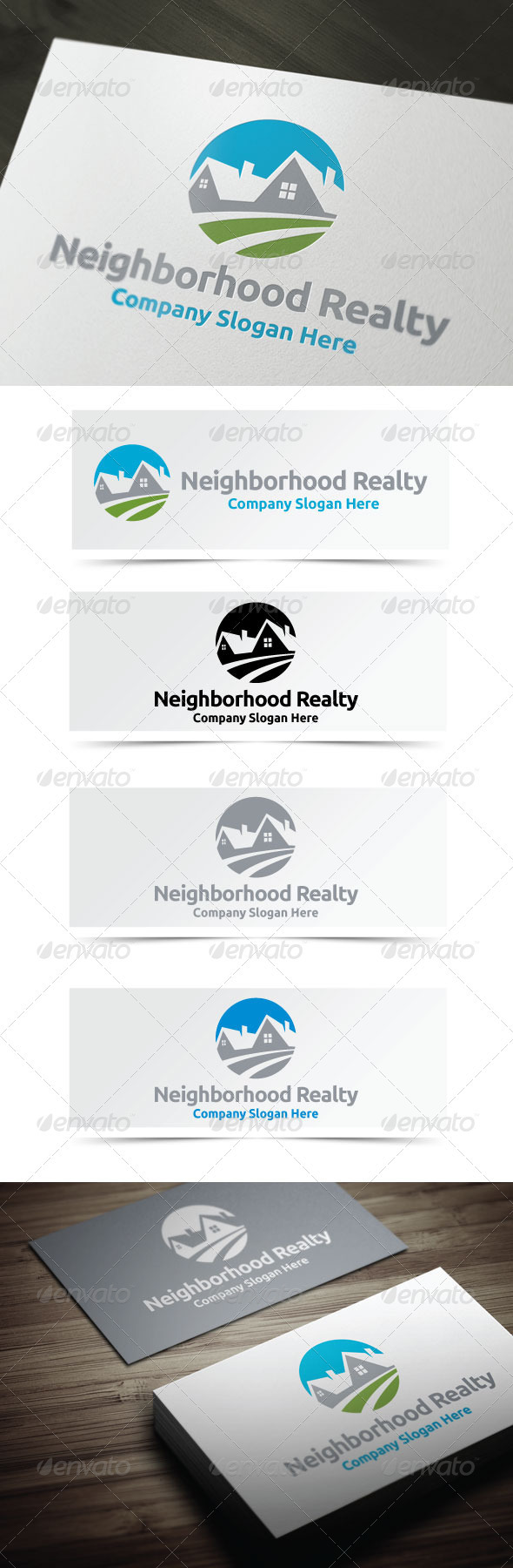 GraphicRiver Neighborhood Realty 3966561
