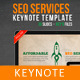 SEO Services Keynote Template - GraphicRiver Item for Sale