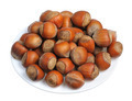 Hazelnuts, isolated - PhotoDune Item for Sale