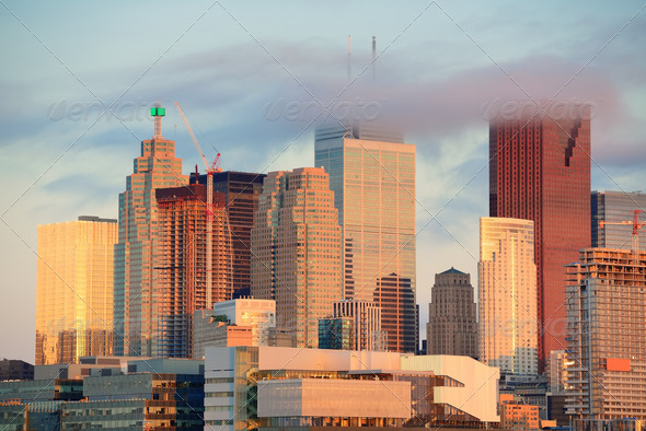 PhotoDune Toronto sunrise 3969963