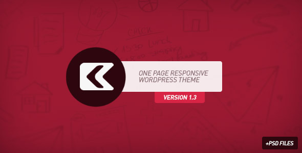 Kronos - One Page Responsive Wordpress Theme - Portfolio Creative