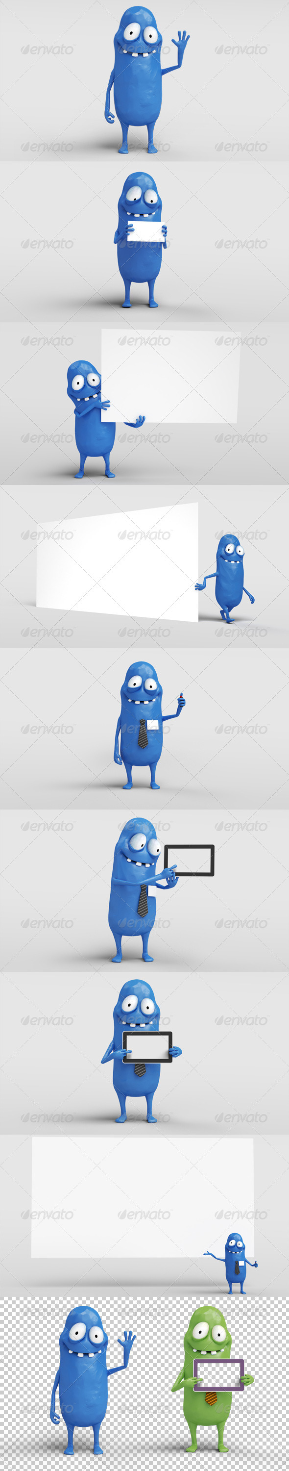 GraphicRiver Bobby Character Stills 3967946