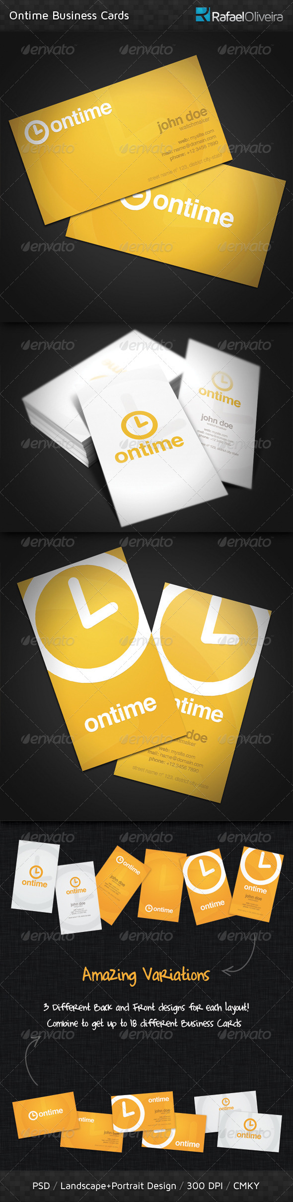 Ontime Business Card - Corporate Business Cards