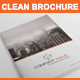 Gstudio Clean Brochure Template - GraphicRiver Item for Sale