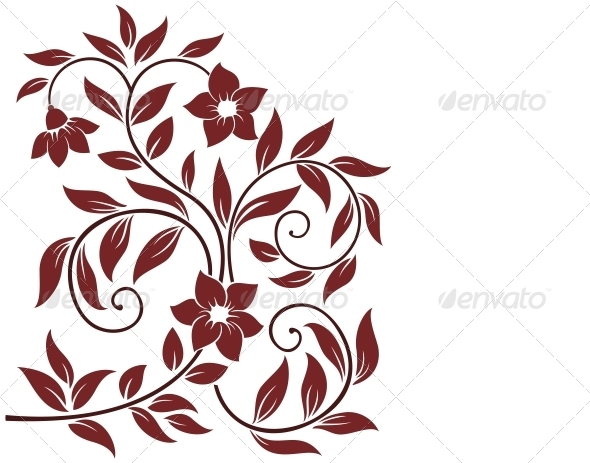 GraphicRiver Decorative Floral Background 3969613