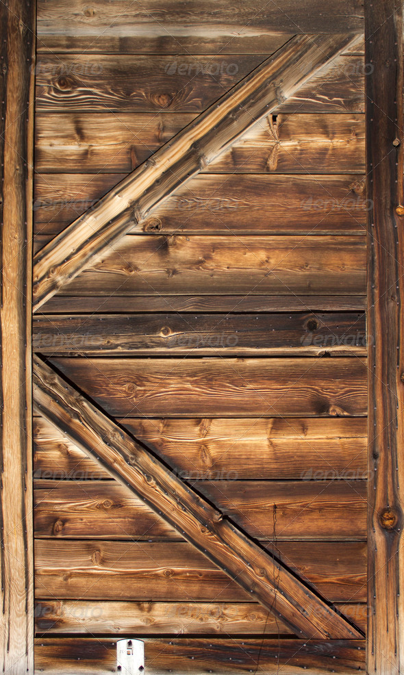 Old Barn Door Wood Texture Stock Photo By Jeremywhat