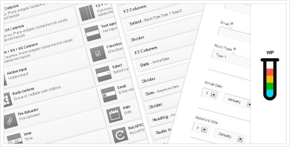 Ether Forms Builder WordPress Plugin - CodeCanyon Item for Sale