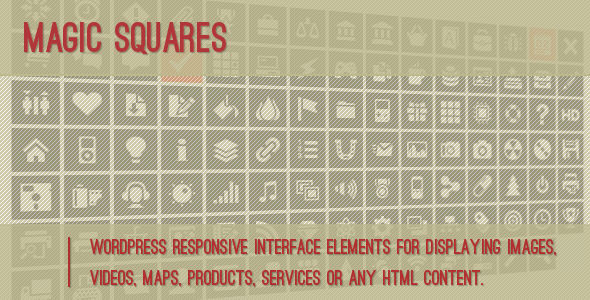 CodeCanyon Magic Squares 3971613