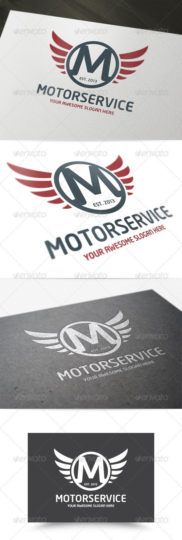 GraphicRiver Motor Service Logo 3972247